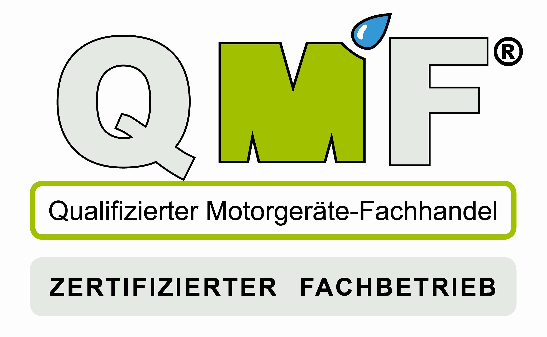 Tenberg Gartentechnik ist QMF zertifizierter Fachhändler