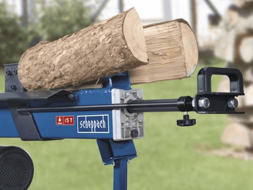Scheppach Holzspalter liegend