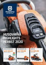 Husqvarna Highlights Herbst 2020