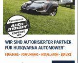 Tenberg ist zertifizierter Automower Experte